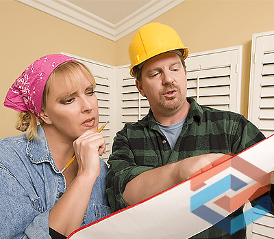 Homeowner and HVAC contractor