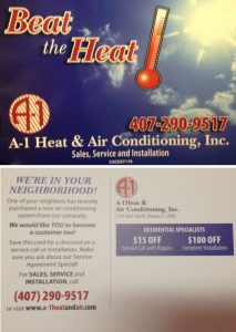 Club Membership Agreement | A-1 Heat & Air Conditioning Orlando, FL