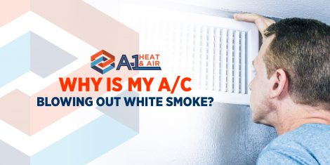 Why Is My A/C Blowing Out White Smoke?