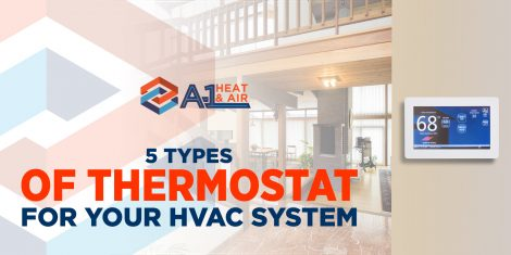 5 Types of Thermostat for your HVAC System