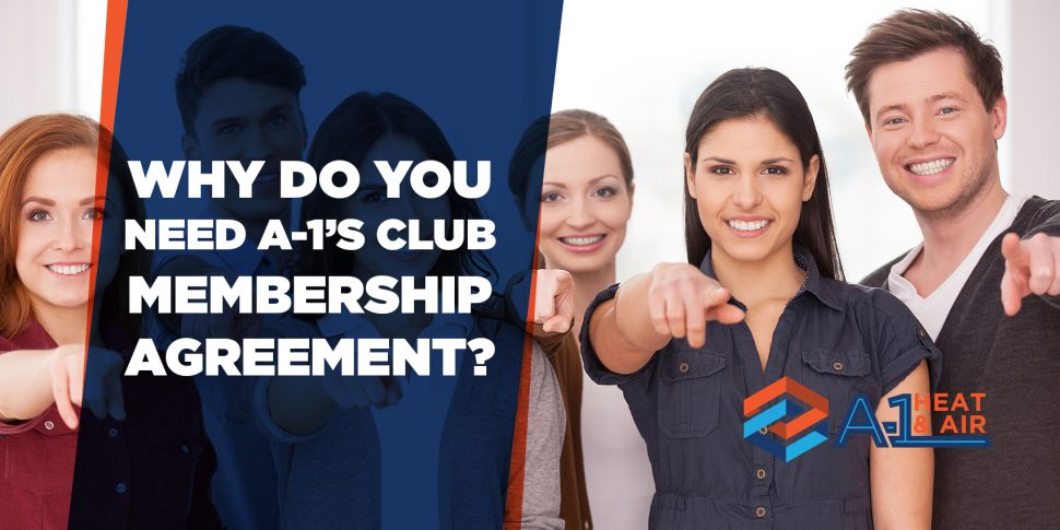 Why Do You Need A-1's Club Membership Agreement?